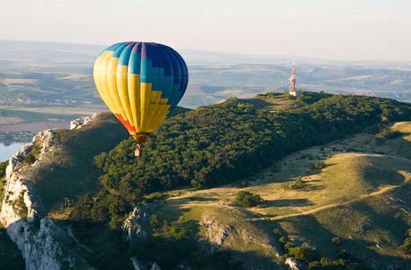Let balónem pro 3 osoby