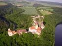 Let balónem - hrad Veveří