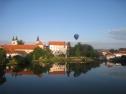 Let balónem nad Telčí 3