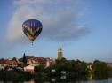 Let balónem nad Telčí